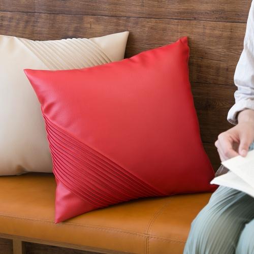 グリーン住宅ポイント交換商品 クッションカバー 「SHELL」 45×45 おしゃれ 日本製 北欧 レザー クッションカバー 中身 かわいい 可愛い 車 画像1